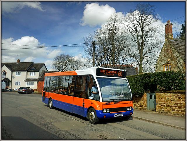 Centrebus 231, Guilsborough