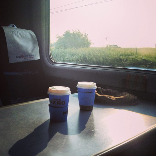 Morning train to Yorkshire | by Texarchivist