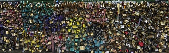 Pont des Arts, Paris, 2013