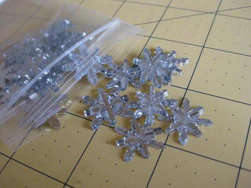 Shiny Snowflake buttons | by vlnjodie