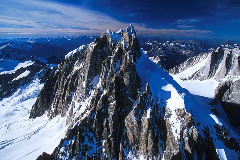 Mount Waddington, Coast Mountains, British Columbia, Canada