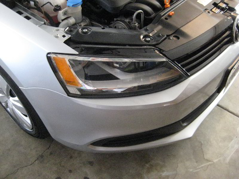 2012 VW Jetta Headlight Assembly - Changing Low Beam, High
