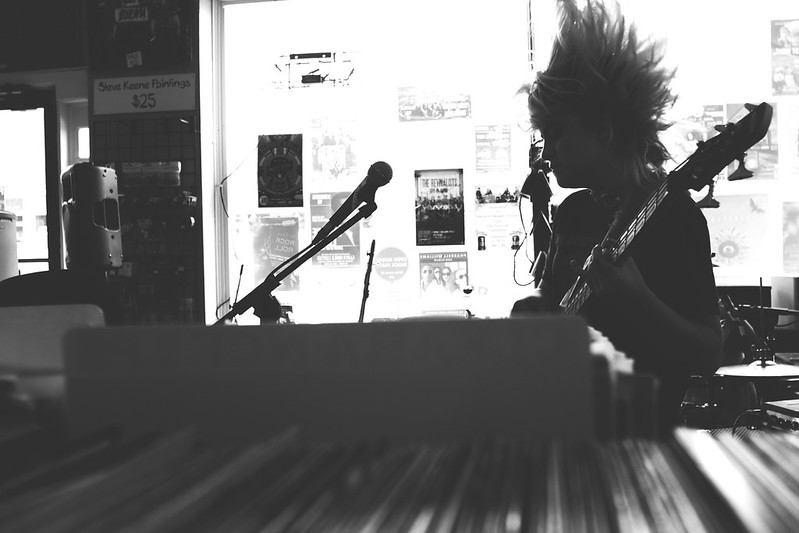 Skating Polly at Guestroom Records (3/22/2014)