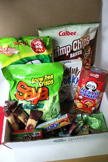 Universal Yums! July 2015 box   by NY Foodie Family