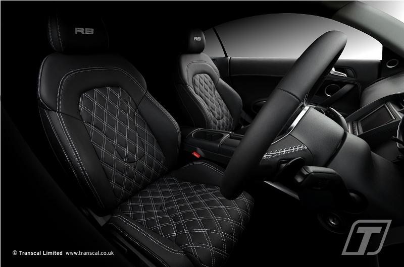 Audi R8 Custom Leather Interior 89 Transcal Ltd Flickr