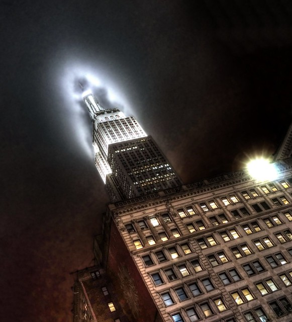 Empire State Building, as seen from Herald Square
