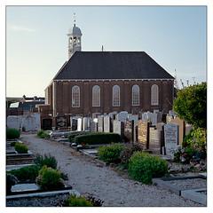 Ter Heijde churchyard and church, 1720