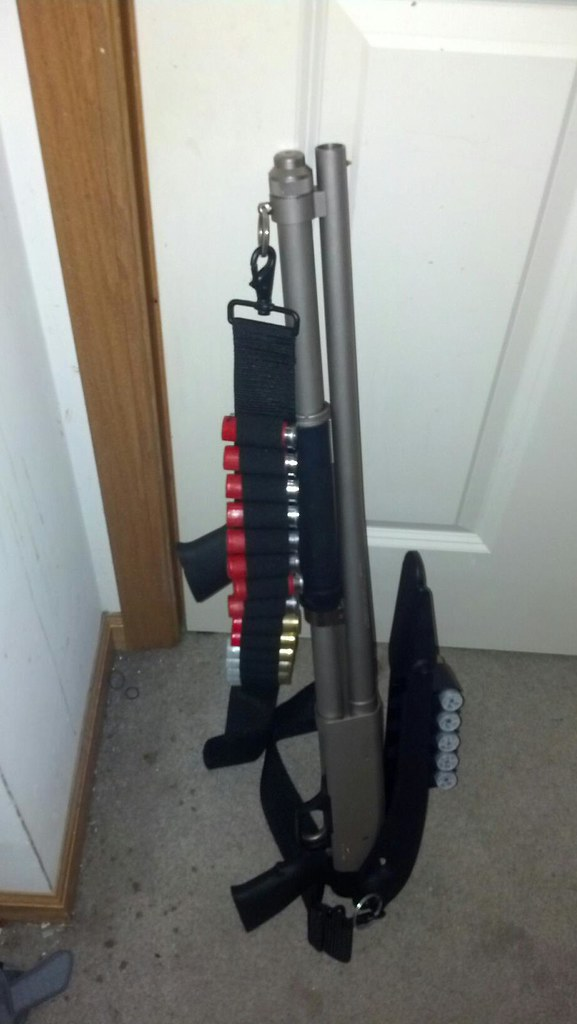 Mossberg 590 Mariner 8+1 | For Spook  Top folding stock with