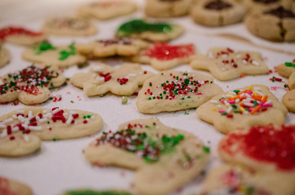 Decorated Christmas Sugar Cookies M01229 Flickr