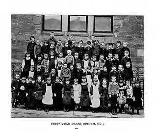 school 2  first grade class 1894  albany ny  1890s  Chestnut St. | by albany group archive