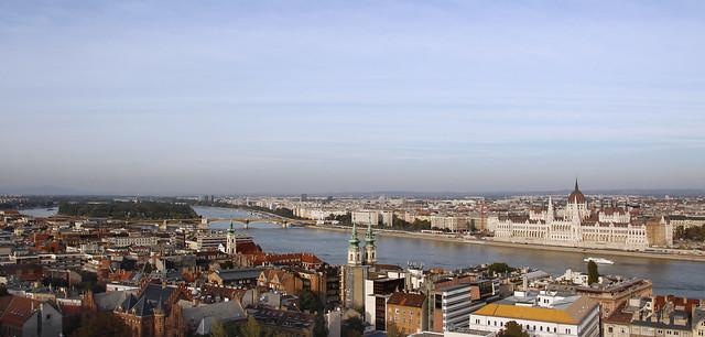 Budapest (Hungary). River Danube