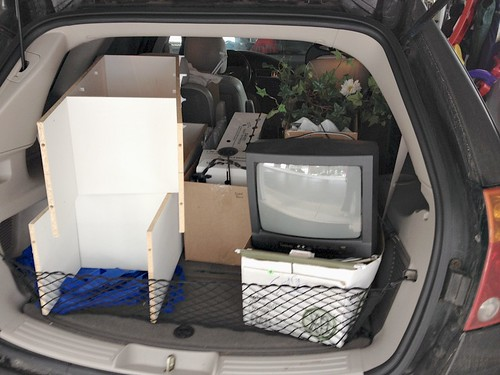 trunk load of goodies to purge