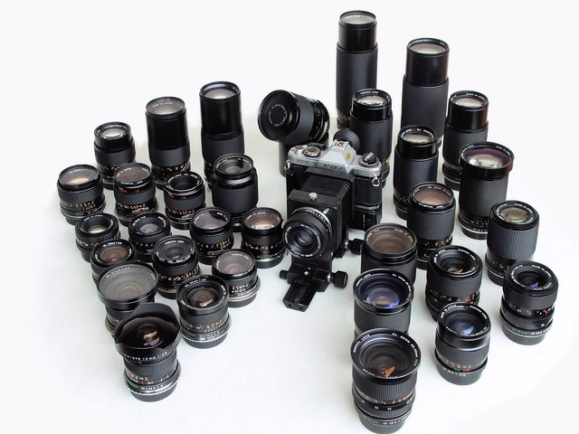 Yashica ML Lenses - All together now!