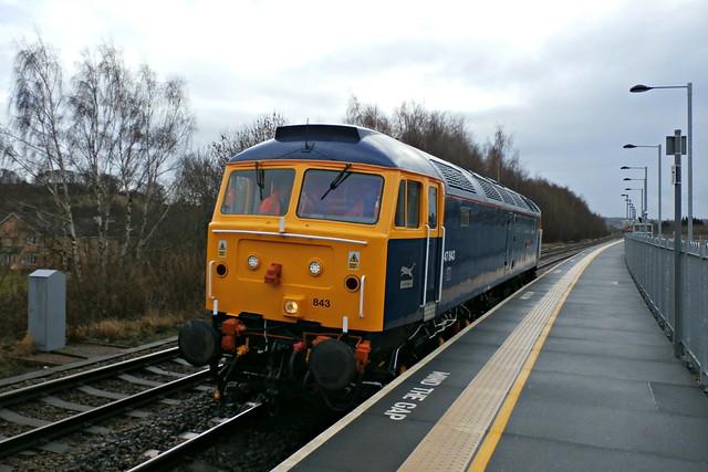 GBRF Class 47 47843 - Chesterfield