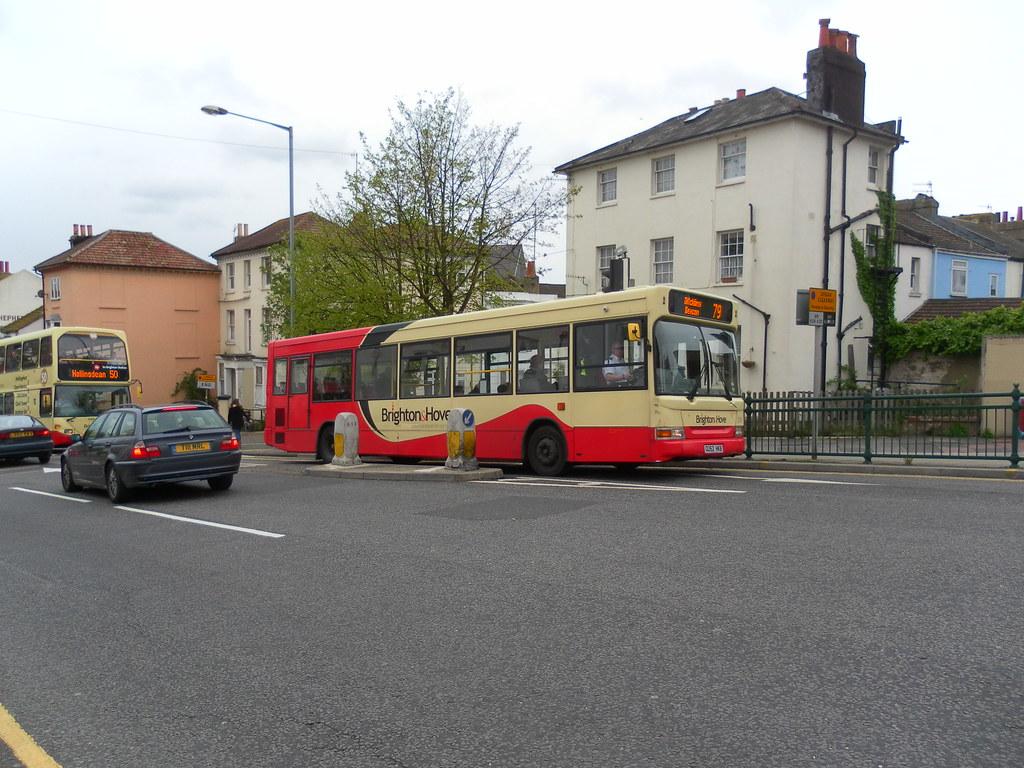 GU52 HKB (Route 79) at Ditchling Road, Brighton