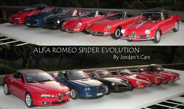 Alfa Romeo Spider Evolution 1:18