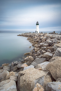 Lighthouse in Santa Cruz, CA | by eddit
