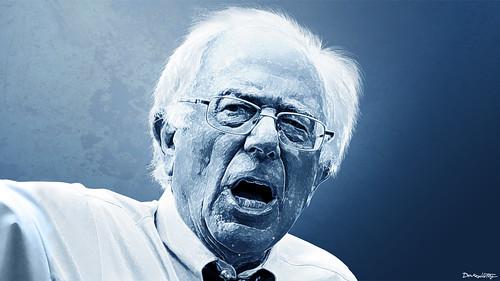 Bernie Sanders - Portrait | by DonkeyHotey