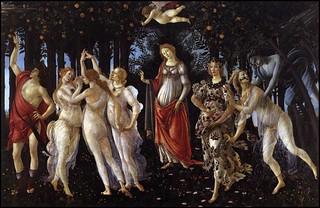 La Primavera De Sandro Botticelli Nos Encontramos Ante Una Flickr