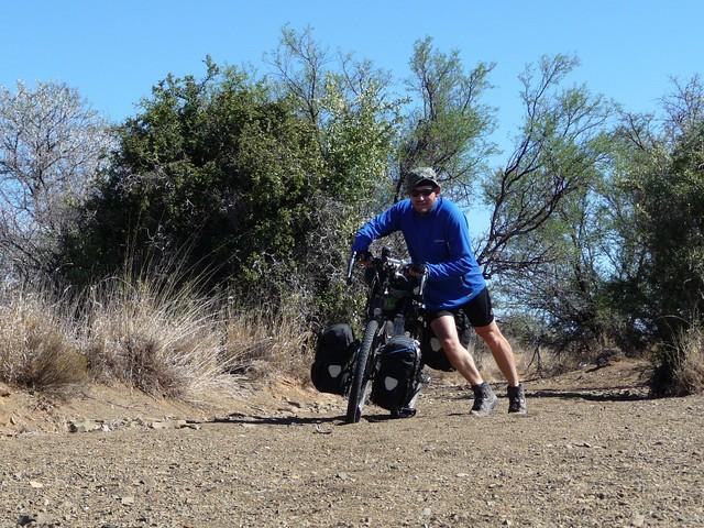 Heavy bike vs crappy road