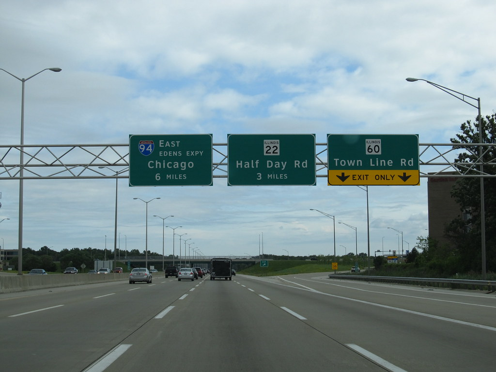 Southbound, Tri-State Tollway, I-94, Chicago, Illinois | Flickr