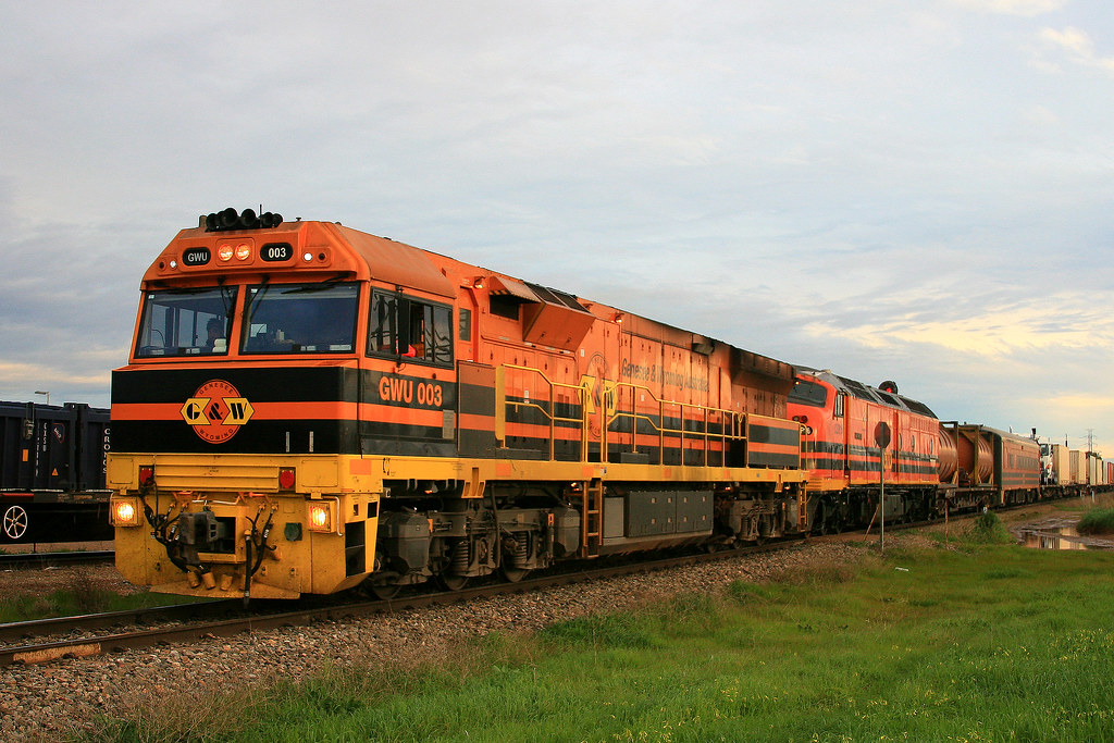 7AD1 GWU003+CLP16 by Trackside Photography Australia