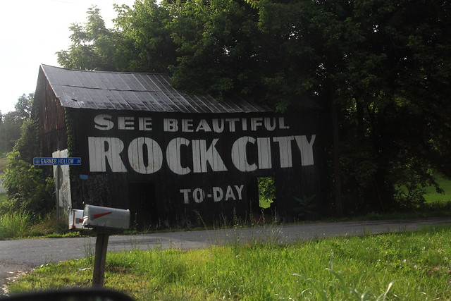 Rock City Advertising Barn - Somewhere in Eastern Tennessee