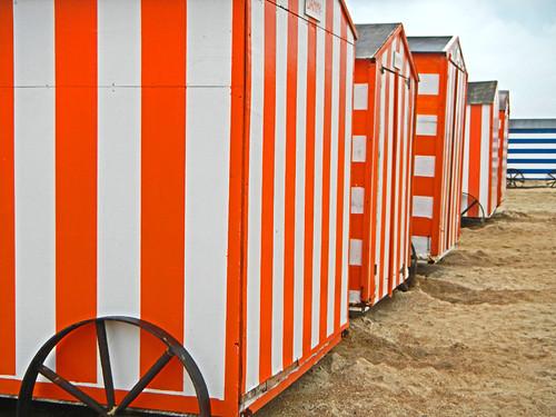 at Knokke-Heist on the Belgian Coast
