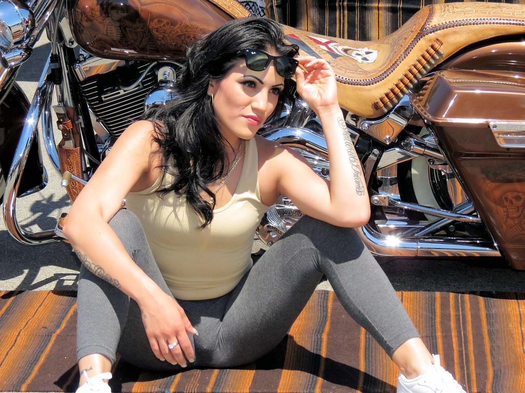 Latina Model | Chula Vista Lowrider Car Show 2013 Nice
