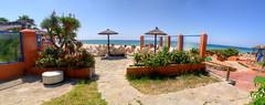 Panorámica chiringuito hotel Dos Mares, Tarifa