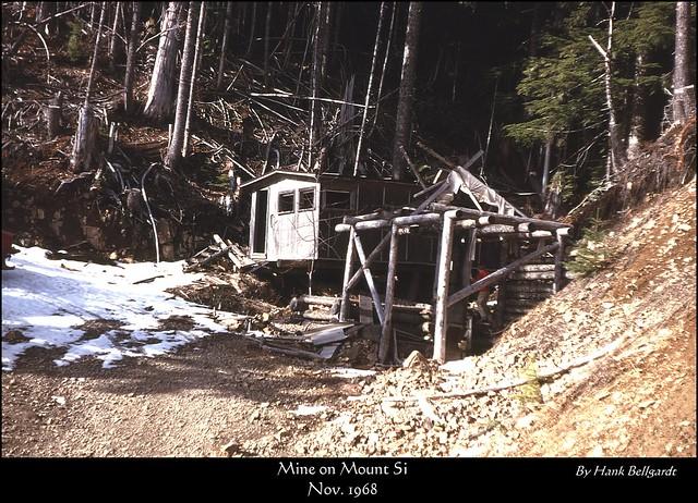 Mt Si Mine  Nov 1968