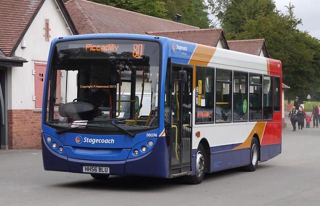 Stagecoach Manchester 36074 (HH56BLU)