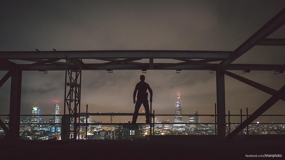 Rooftop A - Self Portrait