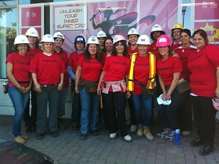 Habitat for Humanity Women Build - September 2013