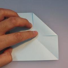 วิธีการพับกระดาษเป็นรูปโบว์ติดกล่องของขวัญ 002