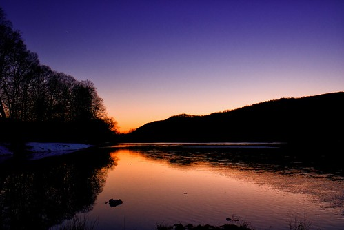 sunset sun night river landscape clear rivers nationalparks delawareriver delawarewatergap samsungnx300