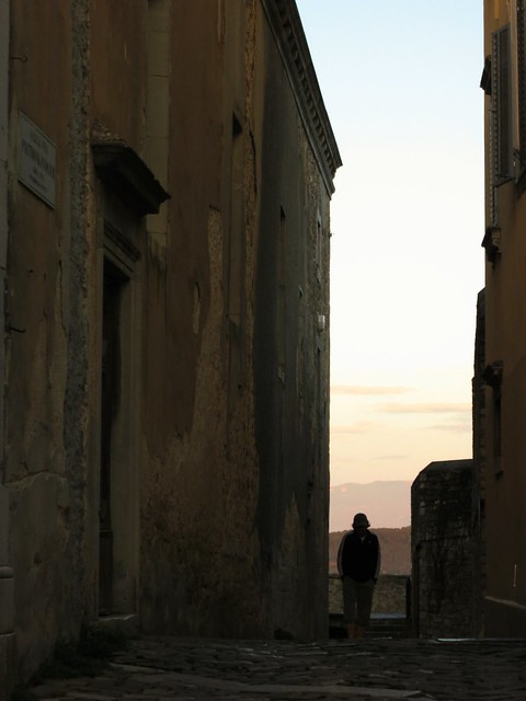Passage in Motovun, Croatia