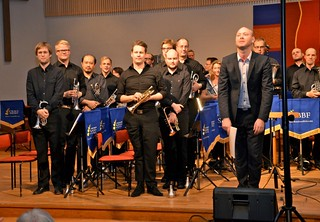 Brassbandfestivalen 2012 - Windcorp Brass Band. Dirigent Andreas Kratz