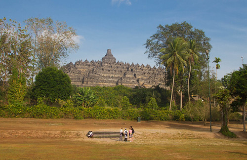 Borobudur from a Distance | by Luke Robinson