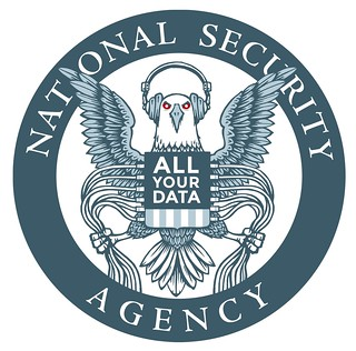 EFF NSA Logo Parody (white) | by Electronic_Frontier_Foundation