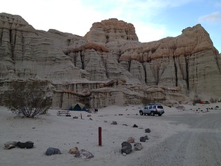 Camping at Red Rock Canyon State Park in California   by JTGoirish