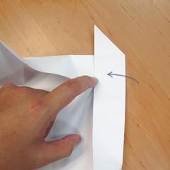 สอนการพับกระดาษเป็นที่ใส่ของรูปกลีบกุหลาบ (Rose box origami) 027