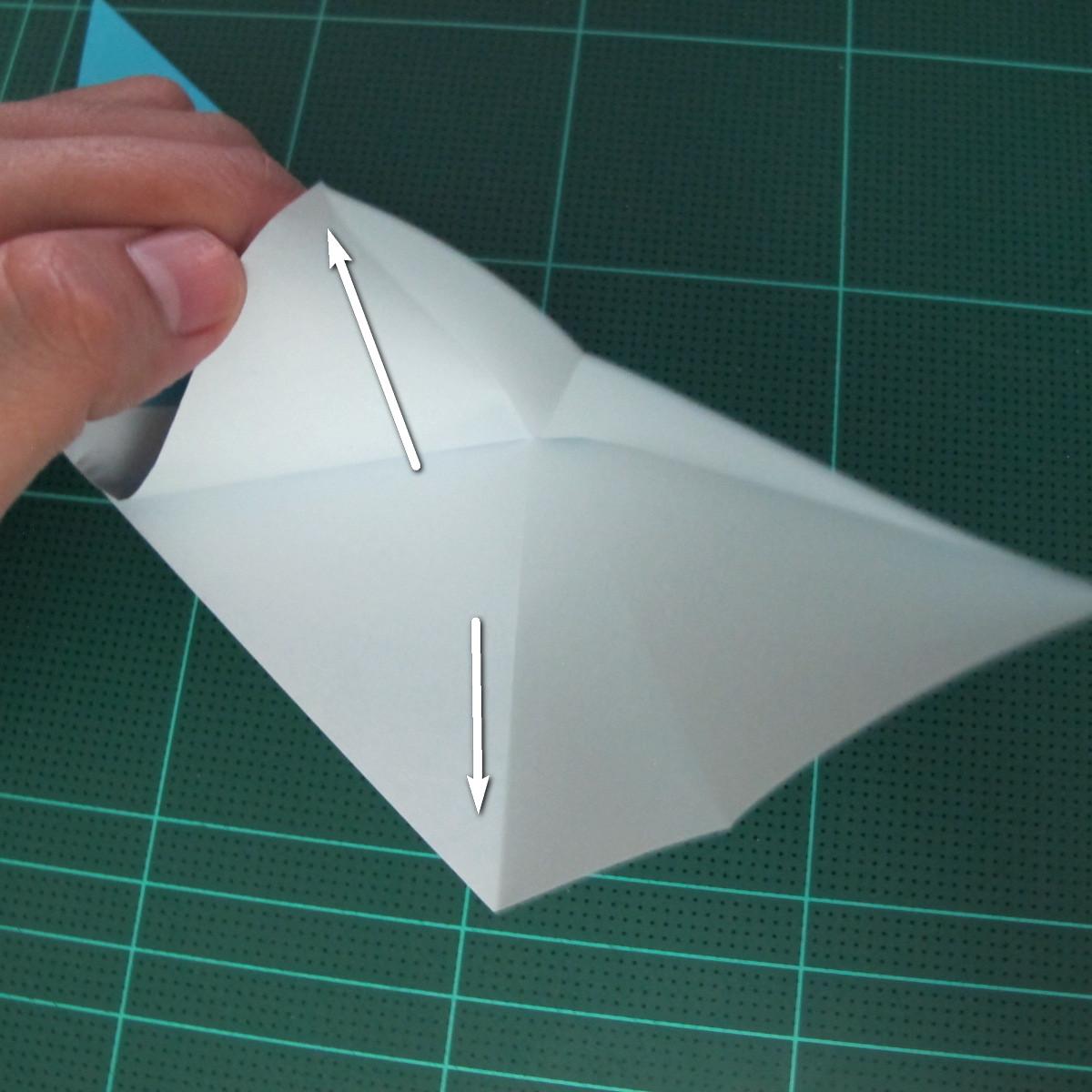 การพับกระดาษเป็นรูปตัวเม่นแคระ (Origami Hedgehog) 012
