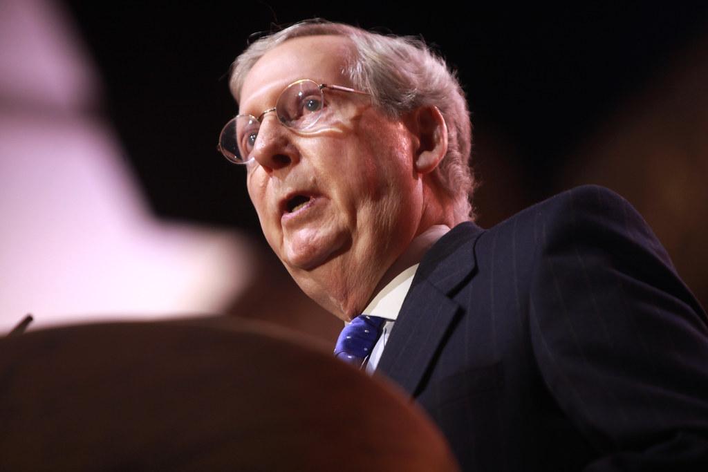 Mitch McConnell | Senator Mitch McConnell of Kentucky speaki… | Flickr
