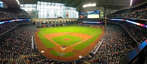 Game getting underway at Minute Maid Park, Houston TX | by roy.luck