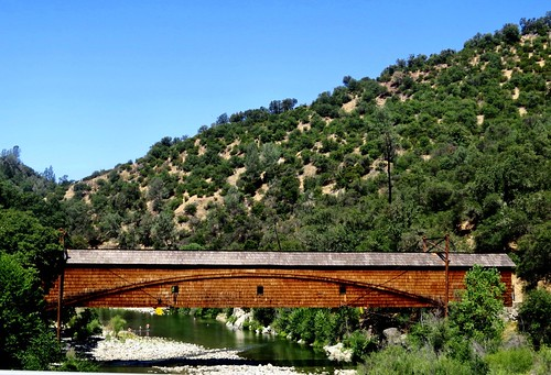 Bridgeport Covered Bridge, California Gold Countryl