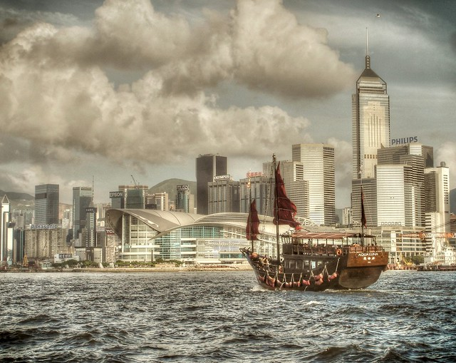 Old meets new in Hong Kong