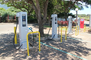 Electric vehicle charging stations | by kahunapulej