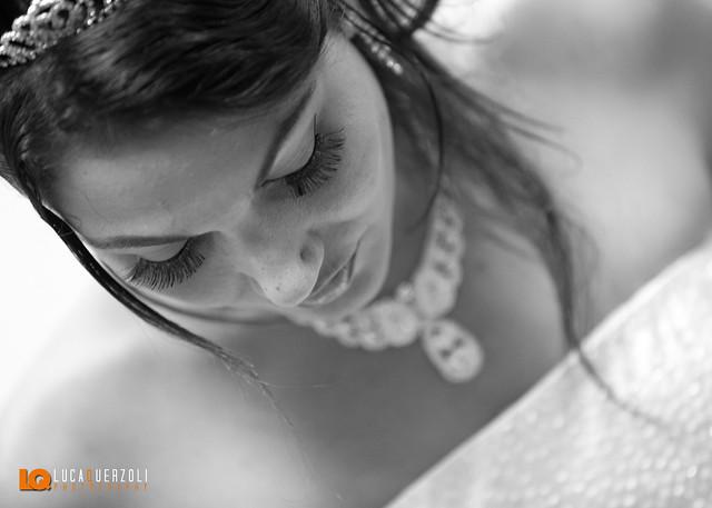 La Sposa - Particolare in Bianco e Nero