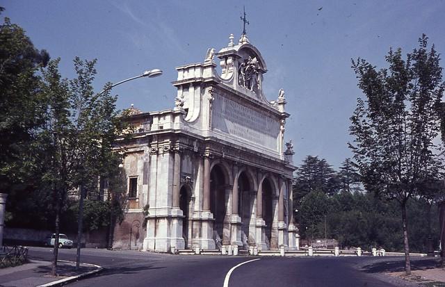 1963 Roma, Gianicolo, Mostra Acqua Paola